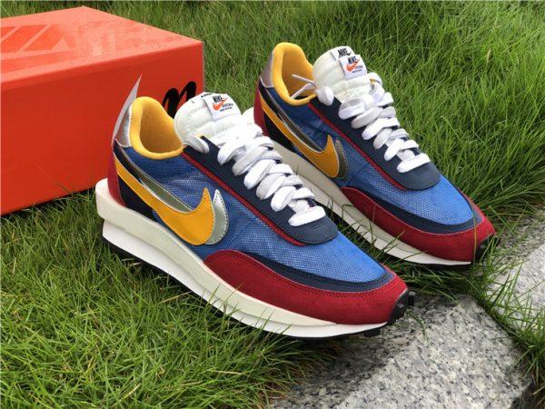 Sacai x Nike LDWaffle Varsity Blue UK Sneakers BV0073-400-6
