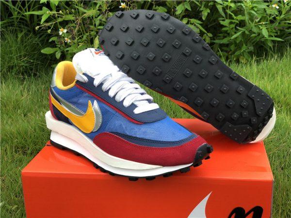 Sacai x Nike LDWaffle Varsity Blue UK Sneakers BV0073-400