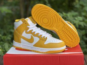 2021 Nike Dunk High Dark Sulfur For Sale DD1869-106