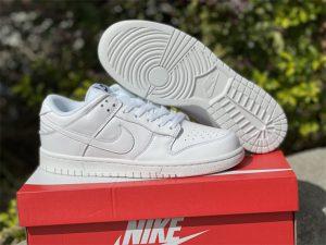 2021 Nike Dunk Low Triple White UK DD1503-109