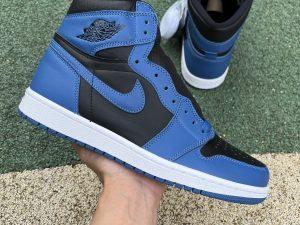 2022 Mens Air Jordan 1 Retro OG High Dark Marina Blue 555088-404