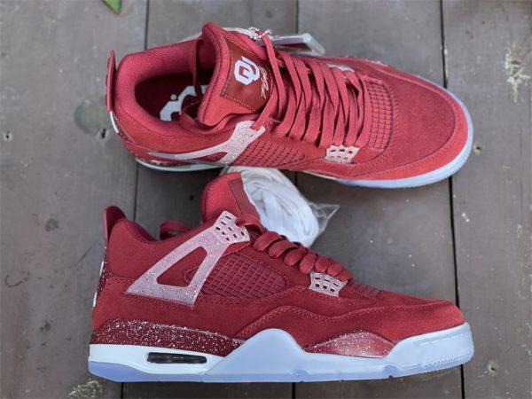 Air Jordan 4 Retro Claret Red White Online Sale AJ4-1032076-1