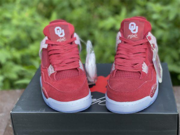 Air Jordan 4 Retro Claret Red White Online Sale AJ4-1032076-6