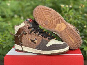 Bodega x Nike Dunk High Legend Shoes UK For Sale CZ8125-200