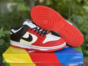 NBA x Nike Dunk Low EMB 75th Anniversary Bulls UK Sale DD3363-100