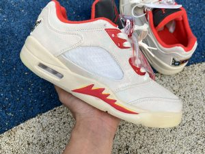 New Release Air Jordan 5 Low Chinese New Year DD2240-100