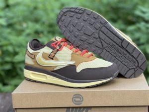 2022 Nike Air Max 1 Baroque Brown Shoes DO9392-200