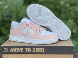 Womens Nike Dunk Low Move To Zero Pink White Authentic DD1873-100